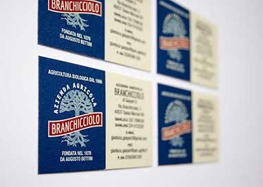 Biglietti da visita Branchicciolo