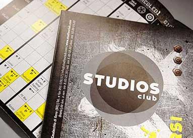 Studios Club pieghevole programma