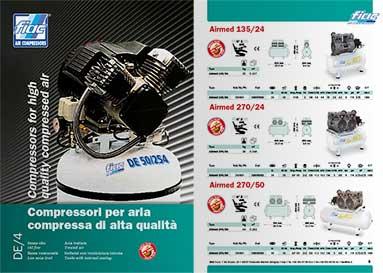 Catalogo compressori per aria Fiac