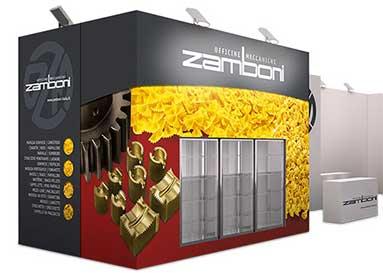 Stand fieristico OMZ Zamboni