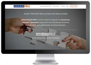 Realizzazione del sito web CentraleRischi PRO