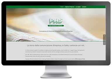 Sito web PRS International