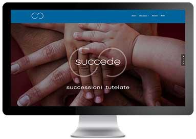 Web Design e realizzazione del sito web Succede